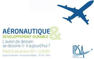 Conférence aéronautique et développement durable de l'IPSA