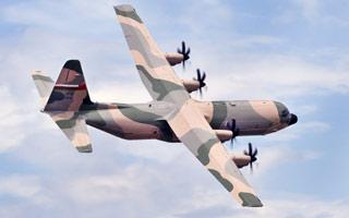 Le premier C-130J pour Oman en phase d'essais