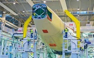 La FAL de l'Airbus A350 baptisée en l'honneur de Roger Béteille