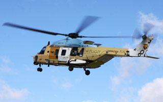 Photo : Premier vol du NH90 espagnol