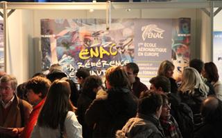 Le Salon des formations et métiers aéronautiques, du 1er au 3 février 2013 au Bourget