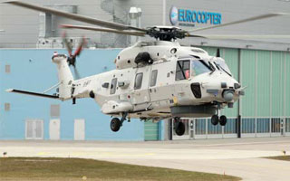 Le premier NH90 NFH belge prend son envol