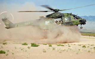 Les NH90 allemands opérationnels en Afghanistan
