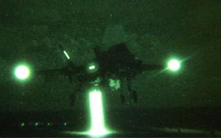 Vidéo : Le F-35B retourne en mer