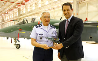 L'armée de l'air brésilienne reçoit son premier A-1 modernisé