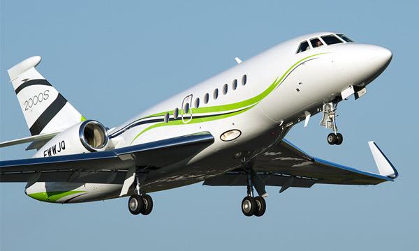 Dassault Aviation a livré son 500ème Falcon 2000