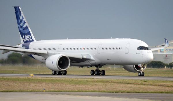 Le deuxième Airbus A350 est en vol