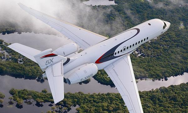 Falcon 5X : Le Galley skylight va faire beaucoup parler de lui