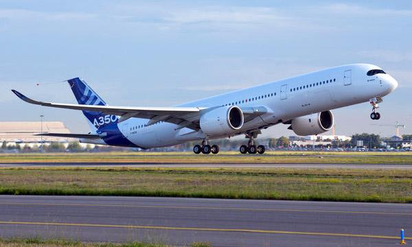 L'Airbus A350 pourrait entrer en service au début du mois de septembre 2014