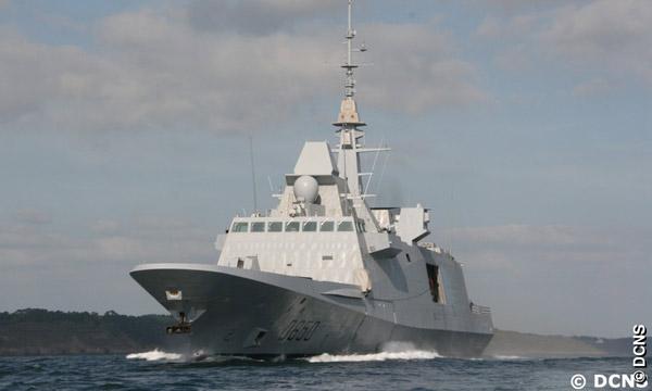 La FREMM Normandie débute ses essais en mer