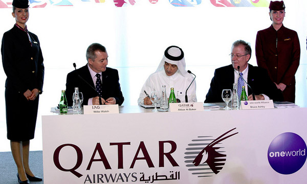 Qatar Airways rejoint officiellement oneworld