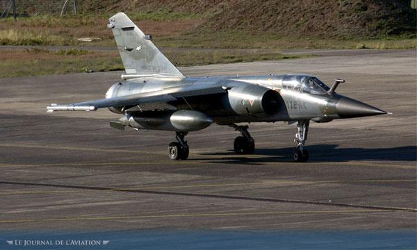 Capitaine Damien E., pilote de Mirage F1