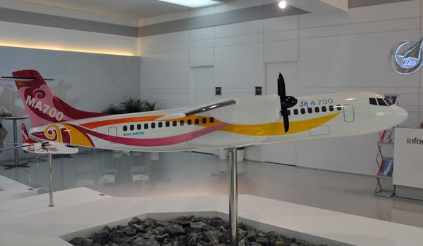 AVIC s'appuie sur Safran pour faire voler le M700 en 2020