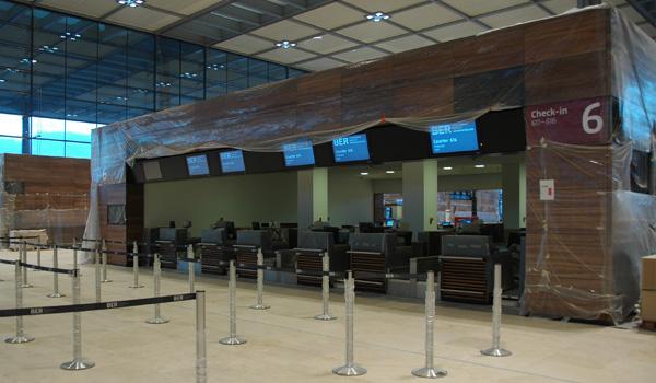 Le nouvel aéroport de Berlin (BER) n'ouvrira pas en 2014