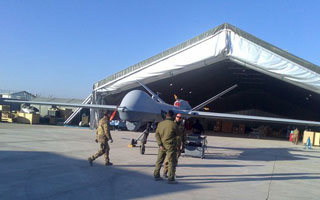 L'Italie déploie ses MQ-9 Reaper en Afghanistan