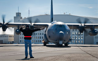 L'AC-130J Ghostrider prend son envol