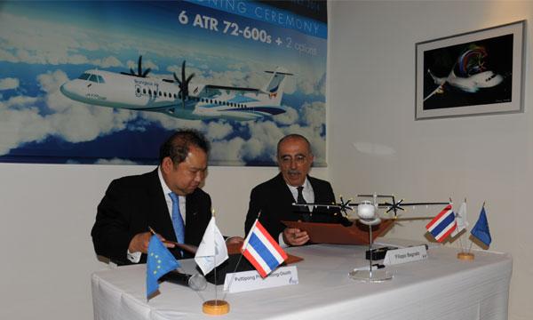 Salon de Singapour : Bangkok Airways officialise sa commande d'ATR 72-600