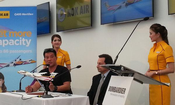 Nok Air précise les raisons de son choix pour le Q400 de Bombardier
