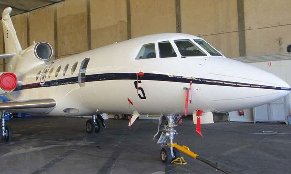 La Marine nationale réceptionne son premier Falcon 50 MS