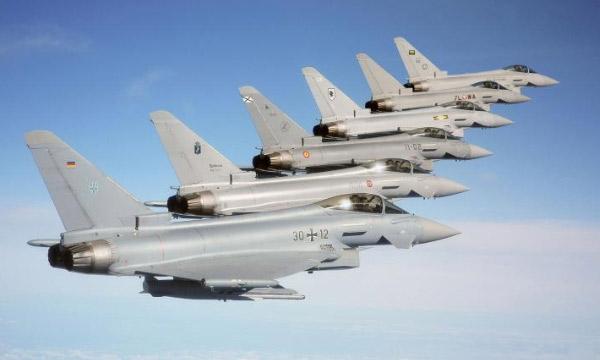 L'Eurofighter sur la corde raide