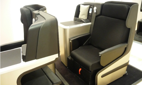 Aircraft Interiors : Sogerma présente Solstys III, son nouveau siège de classe affaires