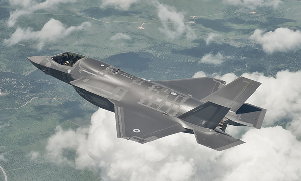 Le F-35 volera au salon de Farnborough