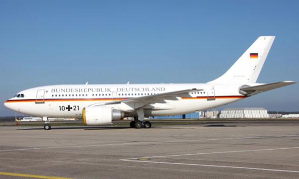 Le dernier A310 VIP allemand prend sa retraite