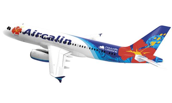 Aircalin dévoile sa nouvelle livrée