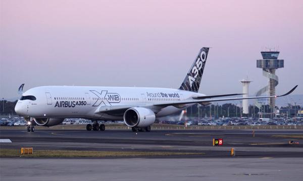 L'Airbus A350-900 termine son programme d'essais en vol