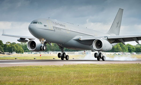La Royal Air Force reçoit son 10ème A330 MRTT