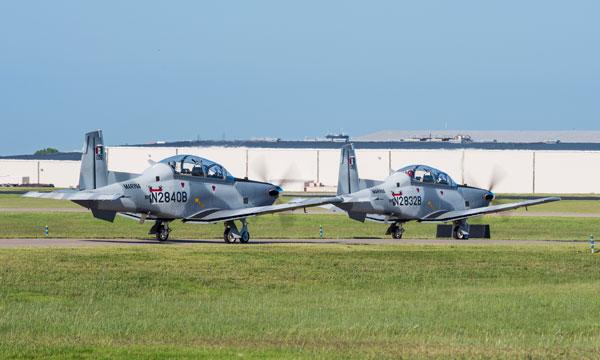 La marine mexicaine reçoit trois nouveaux avions