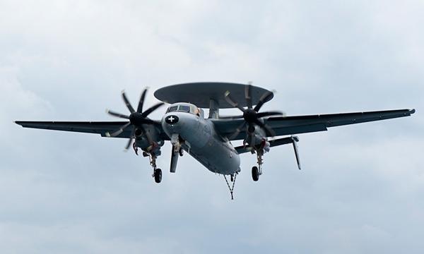Les E-2C Hawkeye français se dotent de nouveaux systèmes de guerre électronique