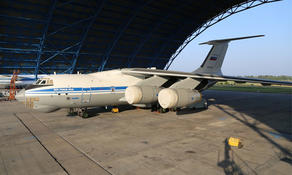 Iliouchine se prépare à livrer ses premiers Il-76MD-90A