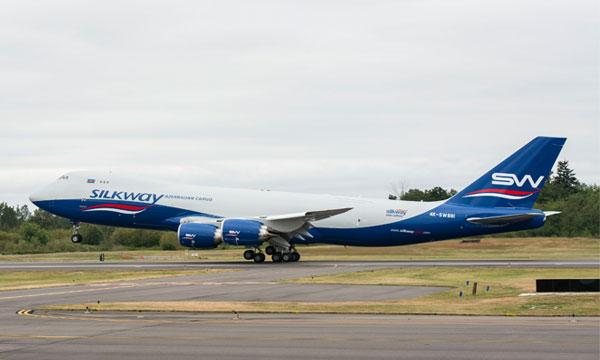 Silk Way Airlines reçoit deux Boeing 747-8