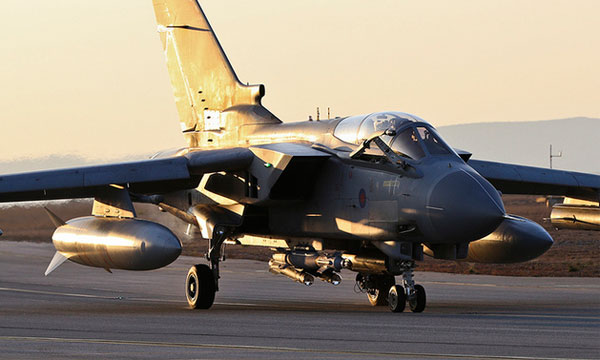 Les Tornado de la Royal Air Force frappent en Irak