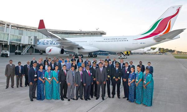 srilankan airlines se met lairbus a330 300