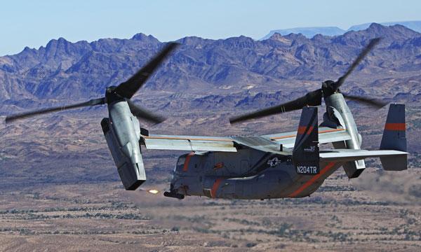 Bell arme son V-22 Osprey