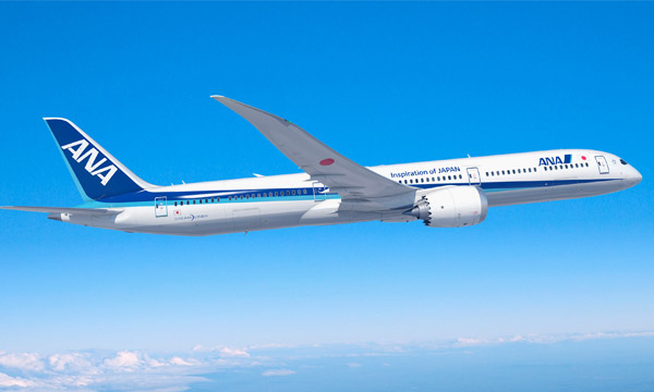 ANA finalise sa commande pour 3 Boeing 787-10