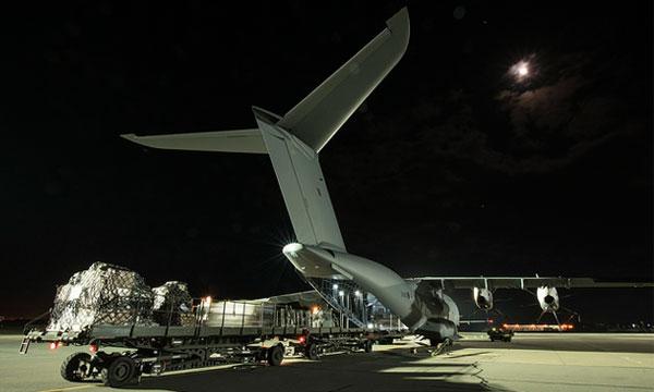 Première mission opérationnelle pour l'A400M britannique