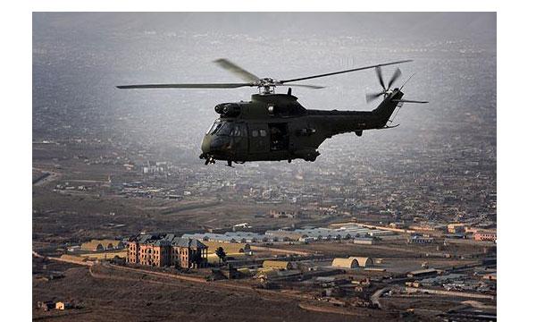 Les « Puma 2 » de la RAF opérationnels en Afghanistan
