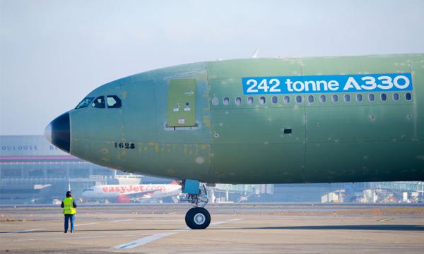 L'EASA certifie l'Airbus A330-300 à 242 tonnes