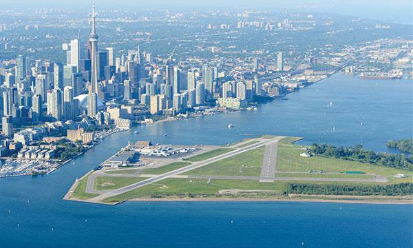 L'aéroport Billy Bishop de Toronto présente son plan d'expansion