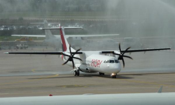 HOP! Air France reçoit son 1er ATR 72-600 (avec photos à Orly)