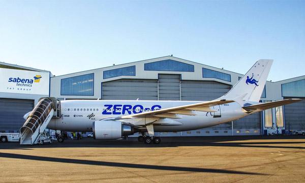 La maintenance de l'A310 ZERO-G confiée à Sabena technics