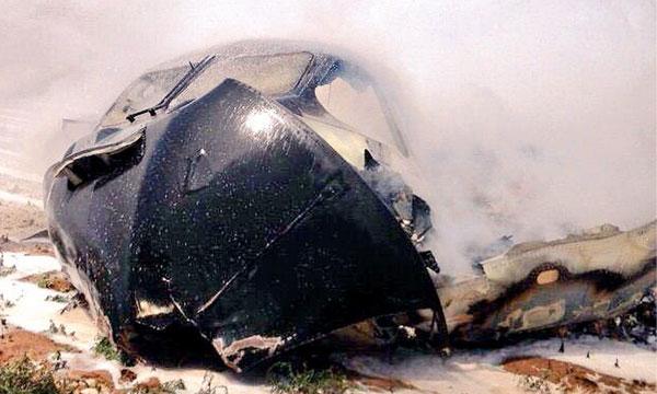 Un A400M s'écrase à Séville lors de son premier vol d'essai