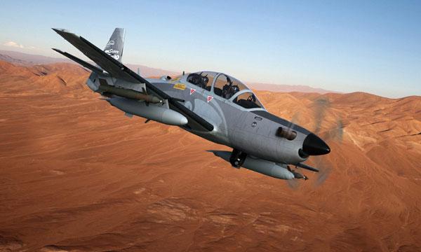 Bourget 2015 : Le Mali commande six A-29 Super Tucano