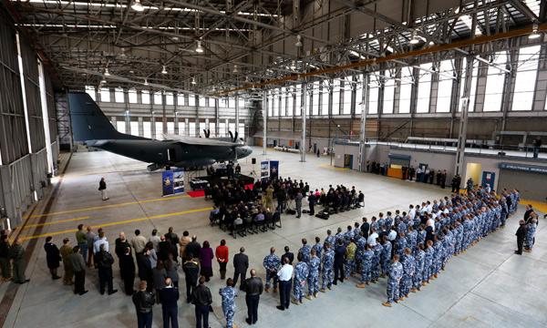 L'Australie réceptionne son premier C-27J