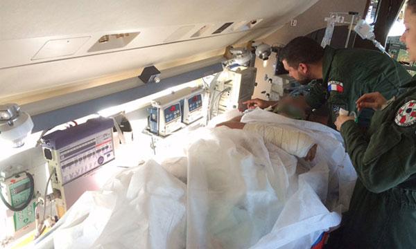 Nouveau module d'évacuation pour l'escadrille aérosanitaire
