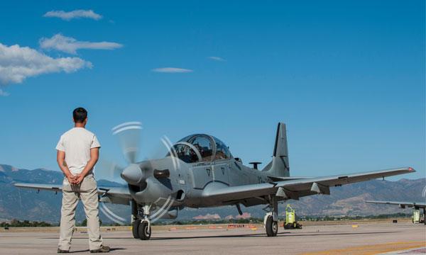 Les pilotes afghans en formation sur A-29