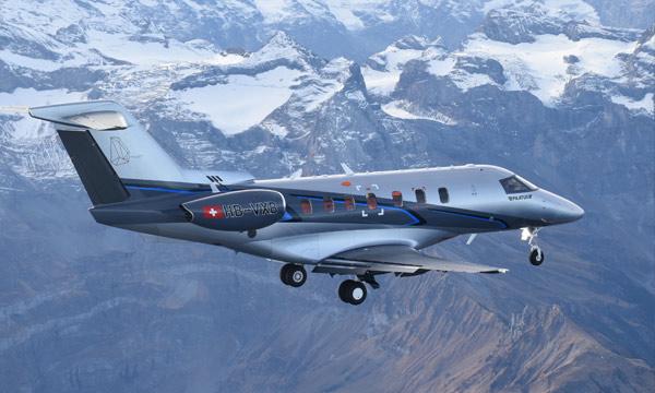Pilatus : Le deuxième jet PC-24 prend les airs